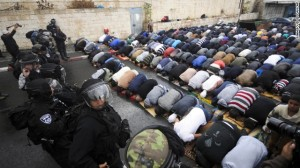 The prayer on the streets of Jerusalem instead of Al-Aqsa is a sight that pains me and gives me strength in equal measure